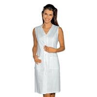 Blouse blanche sans manches Taormina 100% Coton