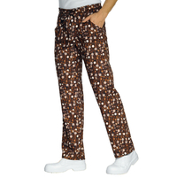 Pantalon Cuisinier marron chocolate