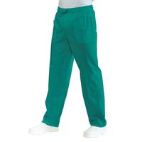 Pantalon Médical Mixte Taille Elastique Vert