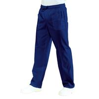 Pantalon médical Mixte à Taille elastique Bleu nuit