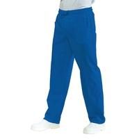 Pantalon médical Mixte à Taille élastique Bleu Hospital