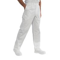 Pantalon de Chef Cuisinier Blanc