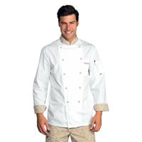Veste Chef Cuisinier Extralight Blanc Biscuit