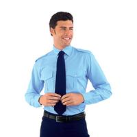Chemise Homme Manches Longues Pilota Bleu
