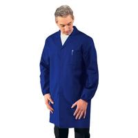Blouse Médicale Homme Manches longues Bleu Cyan
