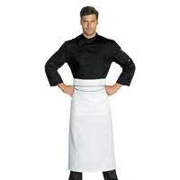 Veste Chef Cuisinier Suzuka Microfibres Super Dry  Noir, anti tranpirante