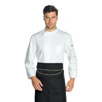 Veste de cuisine blanche anti transpirante Microfibre Super Dry Yokohama