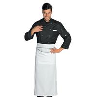 Veste Chef Cuisinier Noir Microfibres