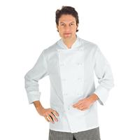 Veste Chef Cuisinier Roma Blanc