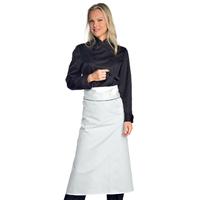 Veste Chef Cuisinier Femme Noir Microfibres