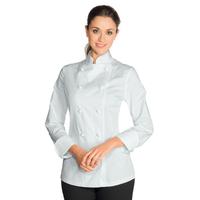 Veste de Cuisine Femme Blanc 100% Coton