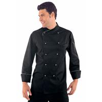 Veste Chef Cuisinier Lima Noir