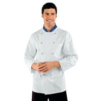 Veste Chef Cuisinier Euroitaly Vert Blanc