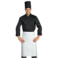 Veste Chef Cuisinier Extralight Manches Longues Noir