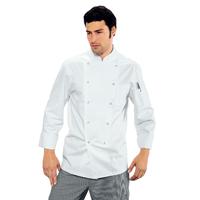 Veste de cuisine blanche 100% Coton