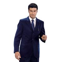 Veste Homme Hiver 3 Boutons Bleu 100% Laine