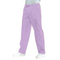 Pantalon Médical Mixte Taille Elastique Lilas