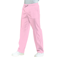 Pantalon Médical Mixte Taille Elastique  Rose