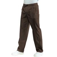 Pantalon Médical Mixte Taille Elastique Cacao