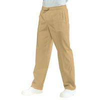 Pantalon Médical Mixte  Taille Elastique Biscuit