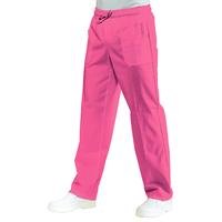 Pantalon Médical Mixte Taille Elastique Fuchsia
