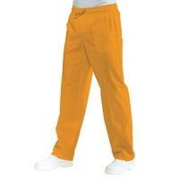 Pantalon Médical Mixte  Taille Elastique Abricot