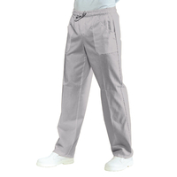 Pantalon Médical Mixte  Taille Elastique Gris