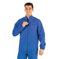 Tunique Médicale Homme Samarcanda Bleu 100% Coton