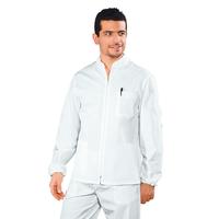 Tunique Médicale Homme Samarcanda Blanc 100% Coton