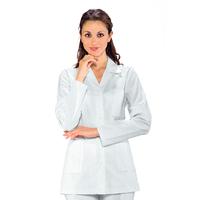 Tunique Médicale Femme Manches Longues Ginevra 100% Coton