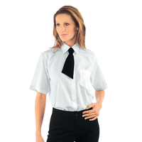 Chemise Blanche Femme Manches Courtes