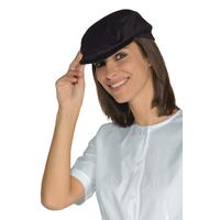 Chapeau Beret de cuisine Coppola noir