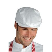 Beret de cuisine Coppola blanc