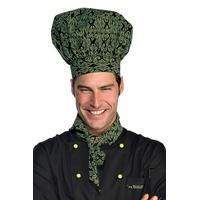 Tour de Cou Triangle Cuisine Noir Vert