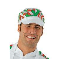 Casquette Charly Avec Filet Blanc italy