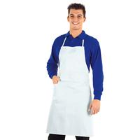 Tablier de Cuisine Complet Blanc 100% Coton