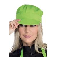 Casquette serveur sam  vert pomme