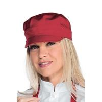 Casquette serveur sam  rouge