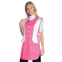 Tablier Médicale Kingston Fuchsia Blanc