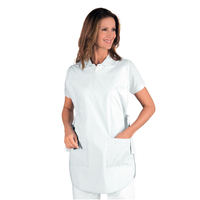 Tablier Médicale Poncho 100% Coton Blanc
