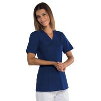 Tunique médicale Sion bleue marine