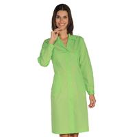 Blouse de travail Femme à manches longues, vert pomme