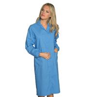 Blouse Laboratoire Femme Prévention des Risques Bleu