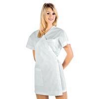 Tunique Médicale Kimono Blanc