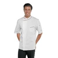 Veste blanche de Pizzaiolo en 100% coton