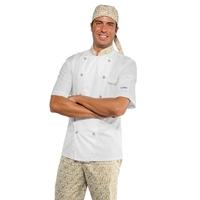 Veste de cuisine Bi-couleur spécial été