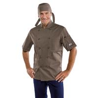 Veste de pâtissier à manches courtes