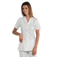 Tunique médicale manches courtes Tissu polycoton 150 gr/m2 ultra léger