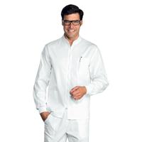 Tunique Médicale Samarcanda Poignets Serrés Blanc 100% Coton