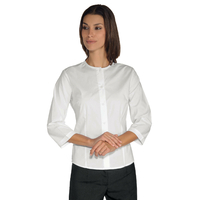 Chemise Stretch Manches 3/4 Caracas Blanche